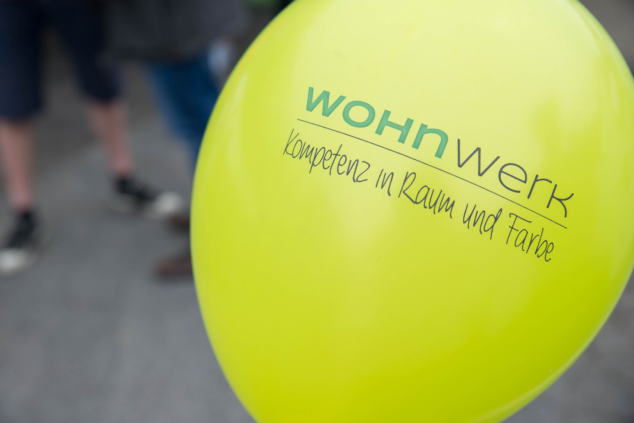 Wohnwerk Luftballon Eröffnung